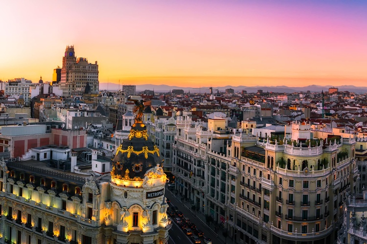 Madrid–Spain,Madrid-İspanya